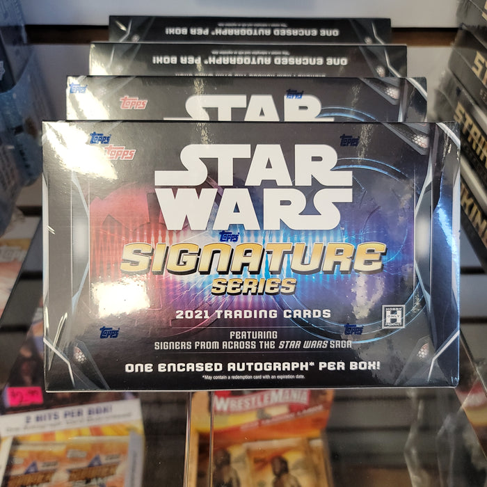 2021 Topps Star Wars Signature Series Hobby Box