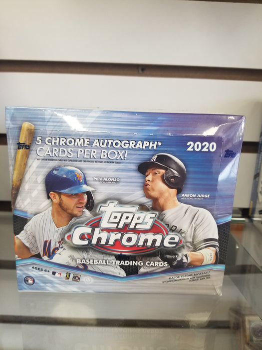 2020 Topps Chrome Baseball Hobby Jumbo Box - PACK