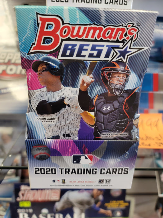 2020 Bowman's Best Baseball Hobby Box - MINI BOX