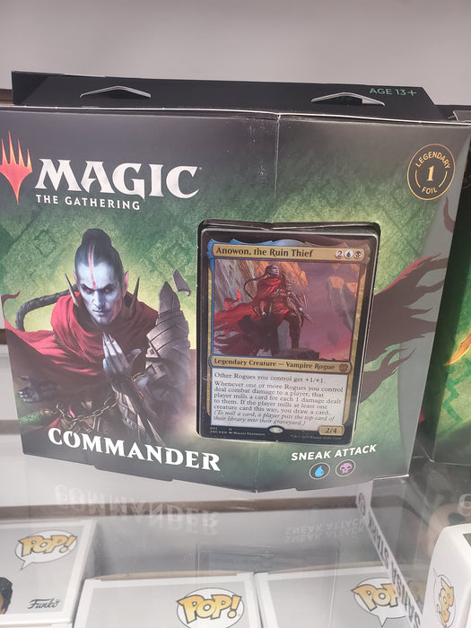 MTG Zendikar Rising SNEAK ATTACK Commander Deck Magic the Gathering