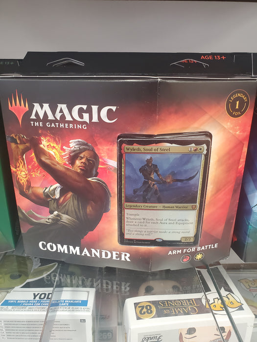 MTG Commander Legends ARM FOR BATTLE Commander Deck Magic the Gathering