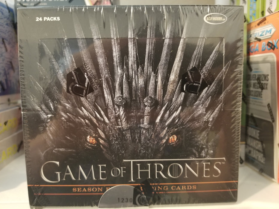 Game Of Thrones Season Eight 8 Trading Cards Box (Rittenhouse 2020)