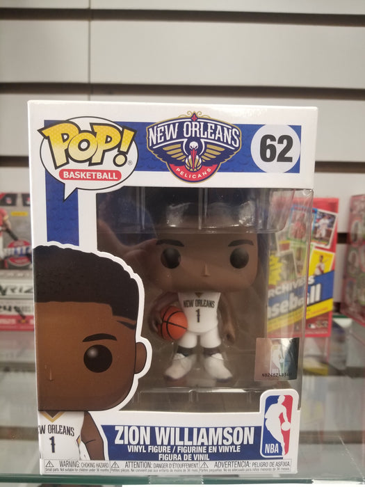 Zion Williamson Funko POP Pelicans