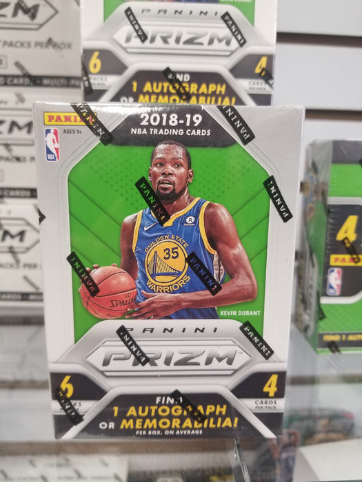 2018-19 Panini Prizm Basketball 6-Pack Blaster Box
