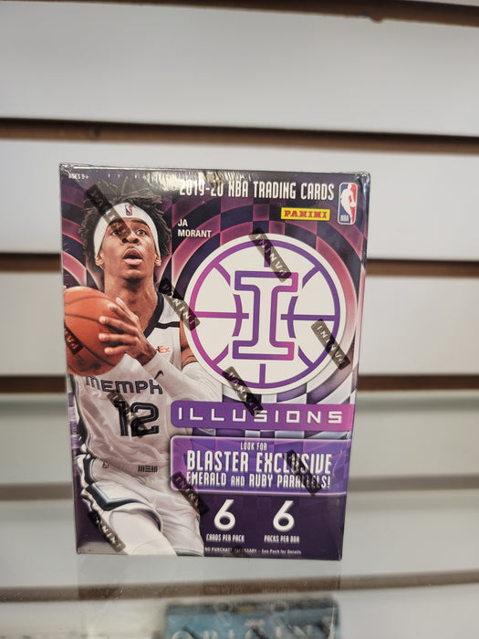 2019-20 Panini Illusions Basketball 6-Pack Blaster Box