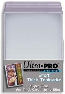 Ultra Pro 3x4 Thick Topload 55pt Card Holder