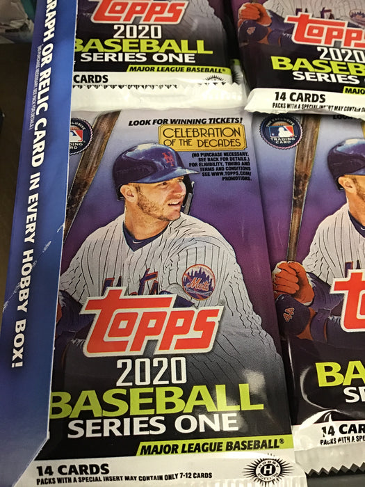 2020 Topps Series 1 Baseball Hobby PACK