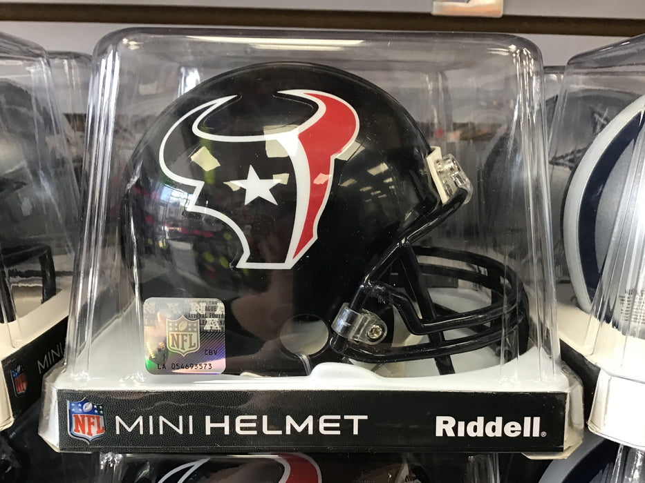 Houston Texans Navy Mini Football Helmet