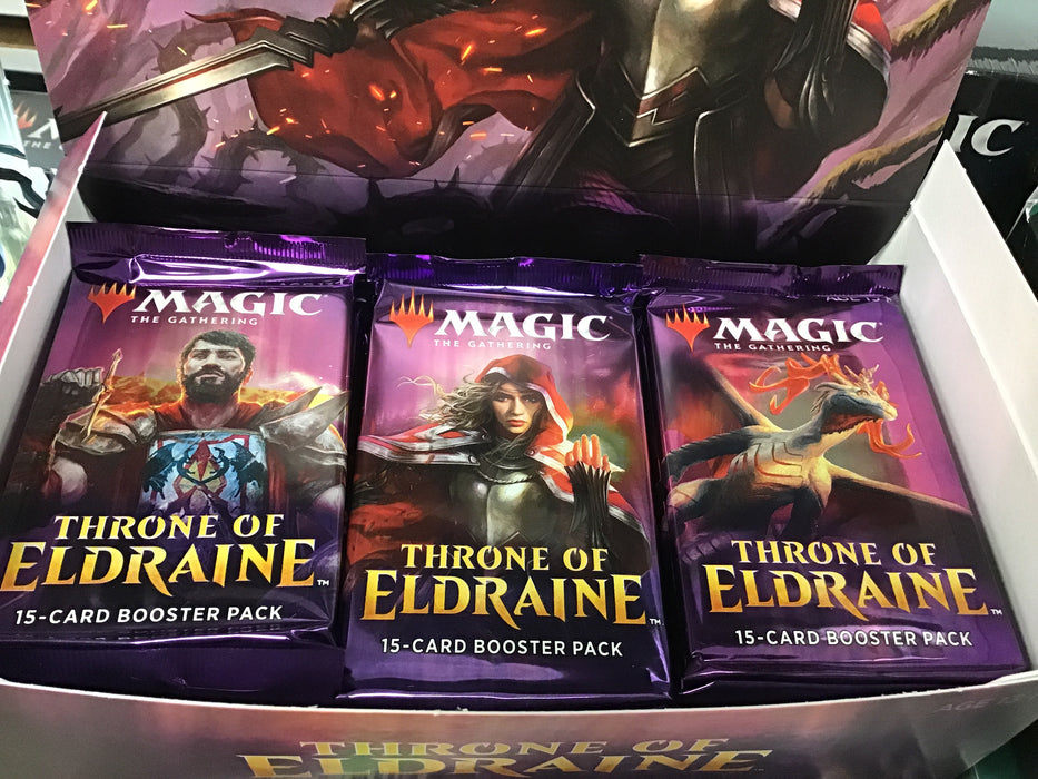 Magic the Gathering MTG Throne of Eldraine Booster PACK