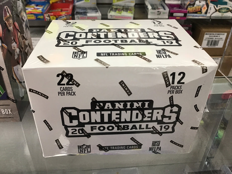 2019 Panini Contenders Football FAT PACK SEALED BOX