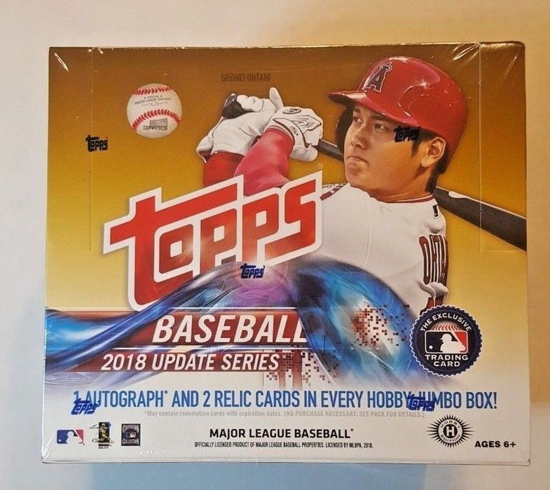2018 Topps Update Series Baseball HTA Jumbo Box