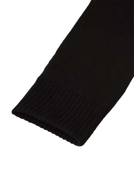 Boody Bamboo Mens Cooling Work Boot Sock in Black