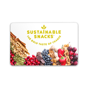 Sustainable Snacks Gift Card