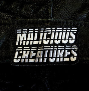 """Malicious Creatures"" Logo Patch"