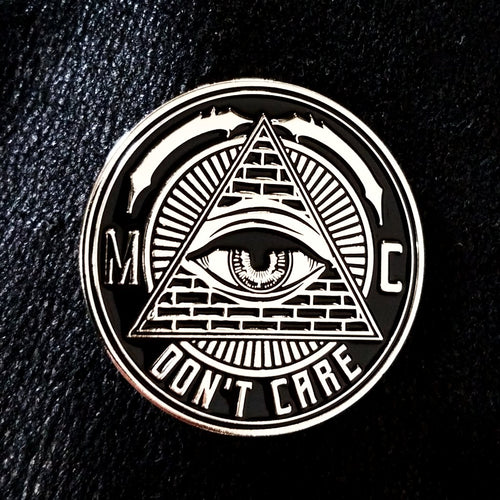 EYE DON'T CARE ENAMEL PIN
