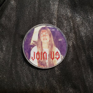 JOIN US Acrylic Lapel Pin