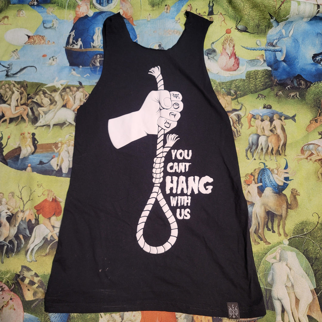 Can't Hang With Us Handcut Tank Small