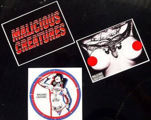 Malicious Creatures Sticker Pack