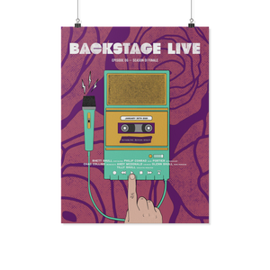 Backstage Live - Poster S1-Ep6