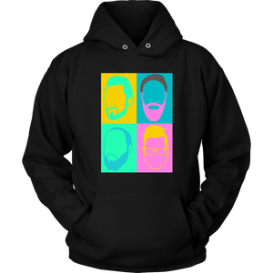 Color Face Design - Hoodie