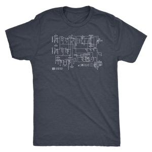 Schematic Blueprint - Tee