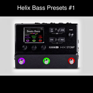 Rick Beato — Helix Bass Pack #1