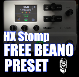 HX Stomp Preset - Beano for Humbuckers