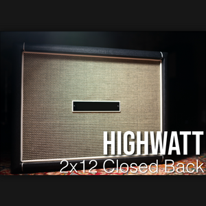 IR Pack - Highwatt 2x12 Closed Back
