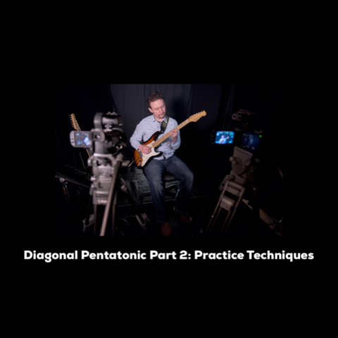 The Diagonal Pentatonic Method - Practice Techniques