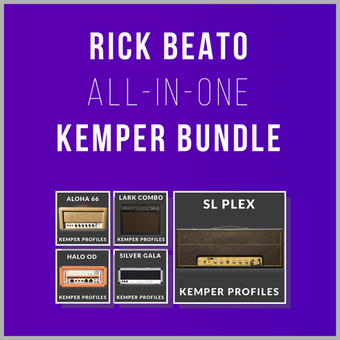 Kemper Profile All-in-One Bundle (98 Profiles Included)