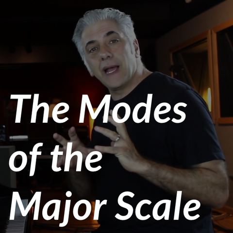 Modes of the Major Scale Introduction