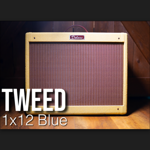 IR Pack - Tweed 1x12 Blue Open Back