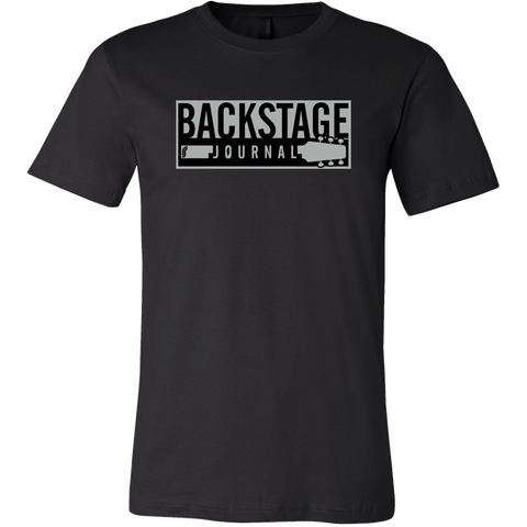 Backstage Journal T-Shirt - Black
