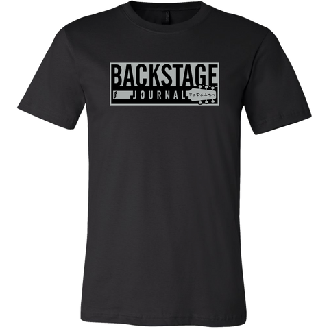 Backstage Journal Podcast T-Shirt - Black