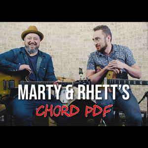 PDF: Rhett and Martys Favorite Chords