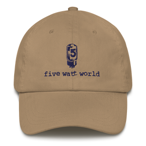 FWW Baseball Cap - Navy Tube