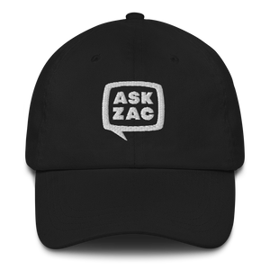 Baseball Cap - Ask Zac