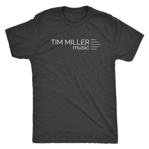 Tim Miller Music White Logo