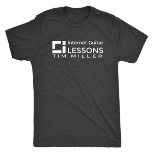Internet Guitar Lessons White Logo