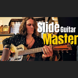 Jam track: I Got SCHOOLED By A Slide Guitar Master