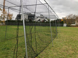 Basecage® 40'L x 12'W x 10'H #42 HDPE Square Hung Batting Cage Kit (No Poles)