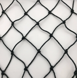 Basecage® 60'L x 12'W x 10'H #42 HDPE Square Hung Batting Cage Net (No Frame)