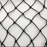 Basecage® 70'L x 12'W x 10'H #42 HDPE Square Hung Batting Cage Net (No Frame)