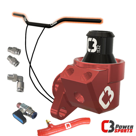 Heated Bars + Thermostat Bundle! - C3 Powersports Snowbike Timbersled Yeti Mototrax KTM Husky Husqvarna Yamaha YZ  Honda CRF 450 Accessories Upgrades