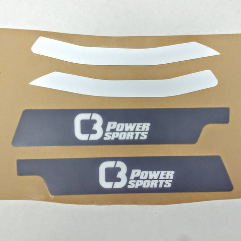 Handguard Decal Kit - C3 Powersports