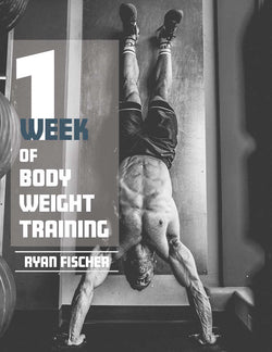 1 Week of Bodyweight Workouts (sample eBook)