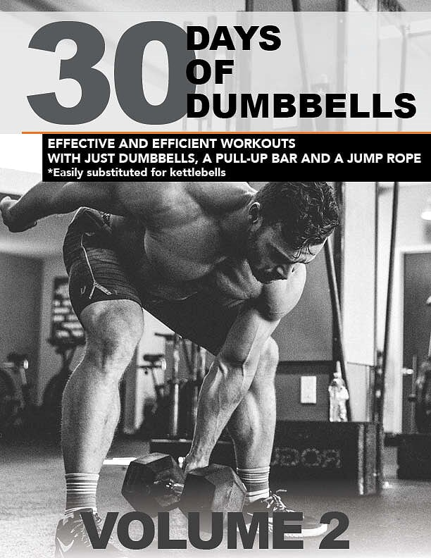 30 Days of Dumbbells - VOL 2