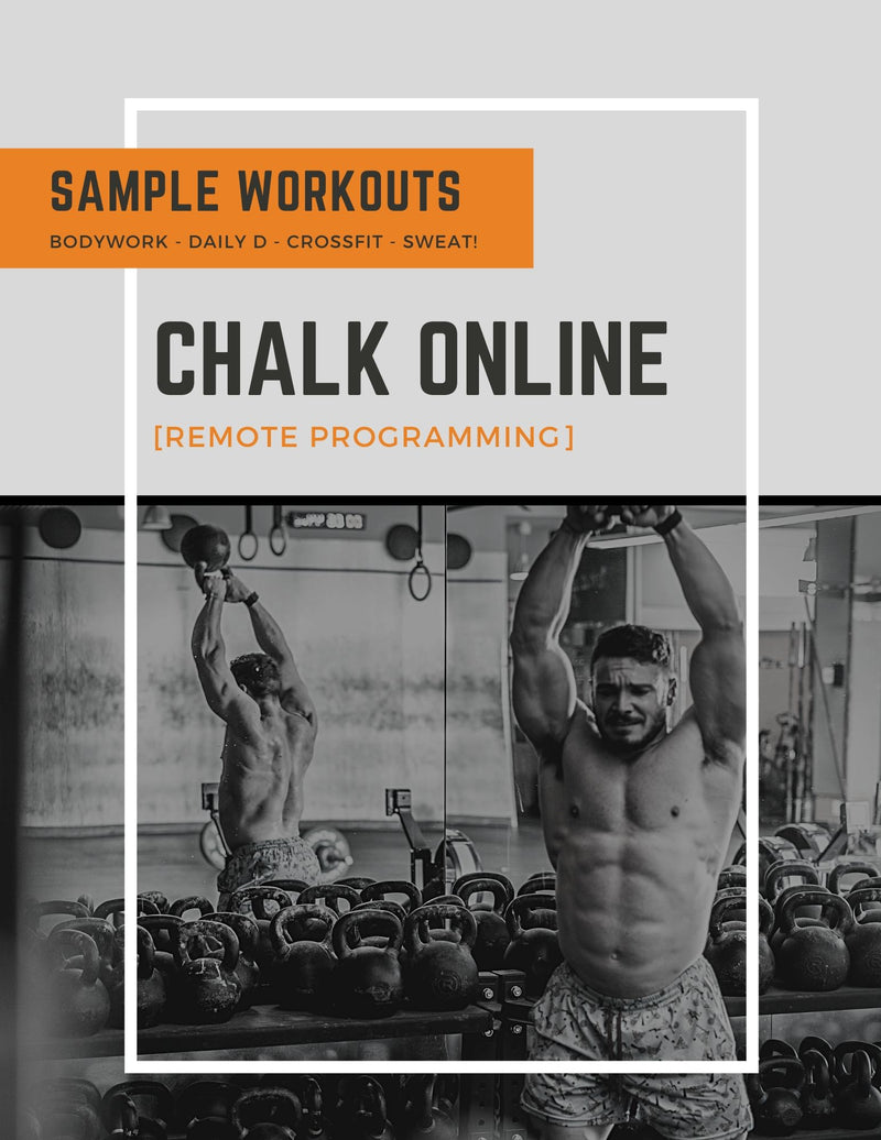 CHALK ONLINE SAMPLE WORKOUTS