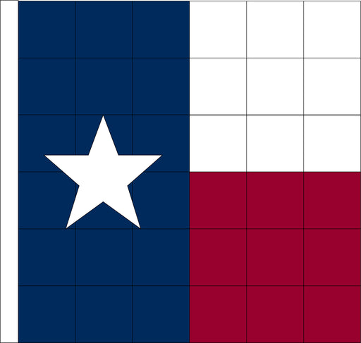 Texas Checkered Racing Flag