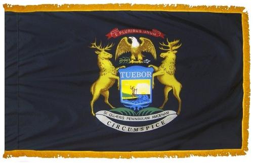 Michigan Indoor Flag